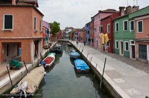 Итальянские острова Бурано и Мурано