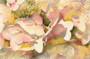 Акварельные цветы Alberto Guillen