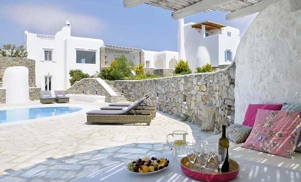 Роскошная вилла на греческом Миконосе