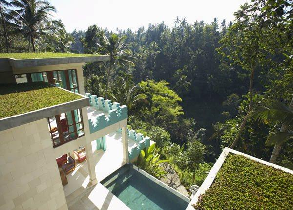 Сказочная вилла в балийских джунглях