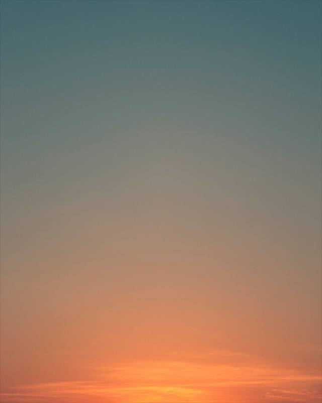 Sag Harbor, New York Sunset 7:33pm Plate 1© Eric Cahan