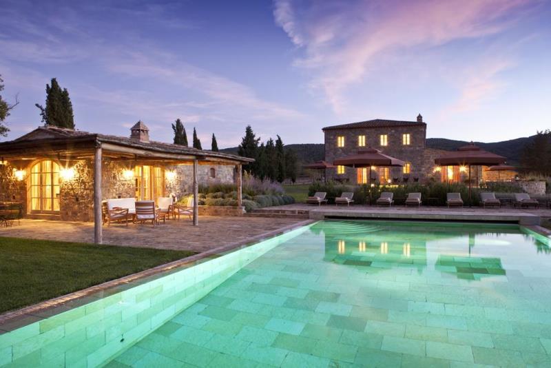 Самые красивые отели мира: Castiglion del Bosco в Италии