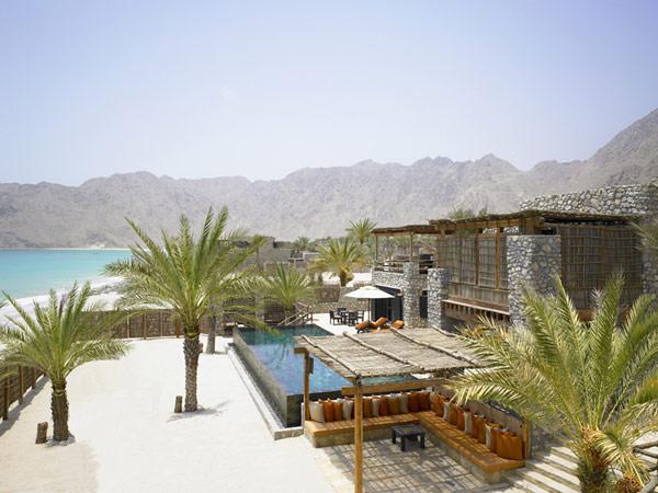 Уединенный курорт в Омане