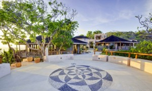 Огромная вилла в мексисканском стиле на Mustique Island