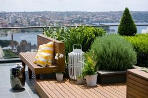 Сад на крыше в австралийском Сиднее