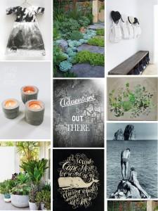Стильные фотоколлажи от сайта poppytalk