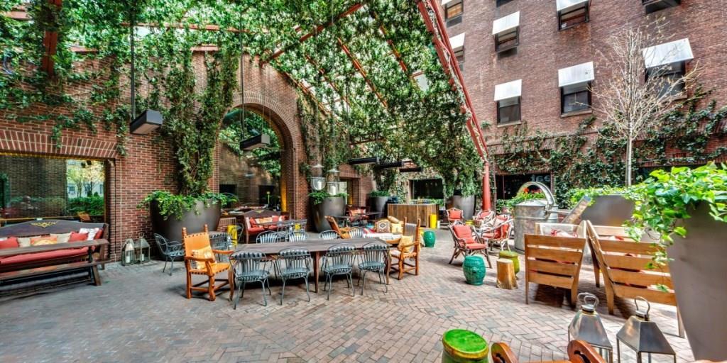 Лучшие отели, Отели мира, Стильные отели, отели Нью Йорка, отель Hudson Нью Йорк