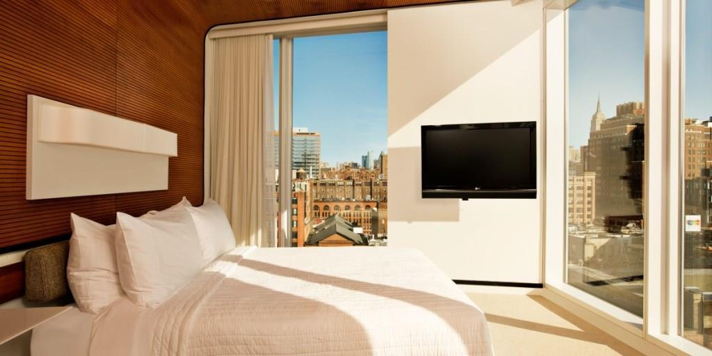 Лучшие отели, Отели мира, Стильные отели, отели Нью Йорка, отель The Standard, High Line
