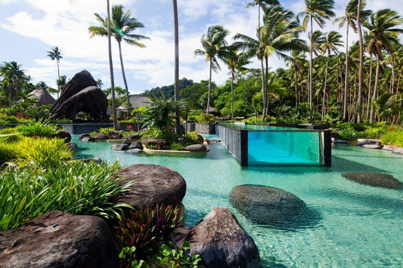 Курорт на Фиджи Laucala Island