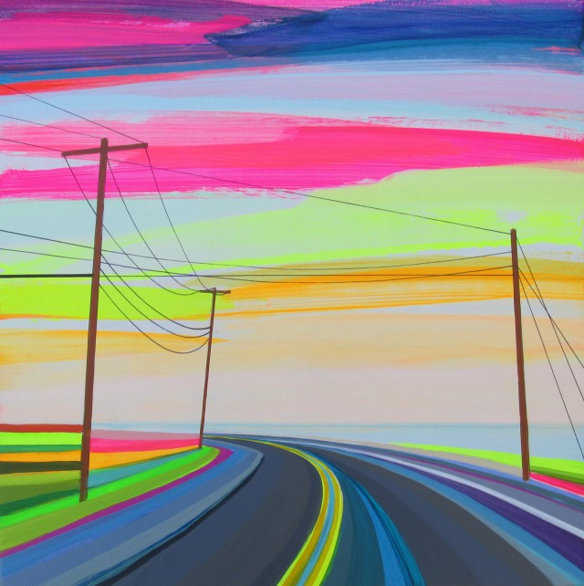 Красочные дороги Гранта Хэффнера
