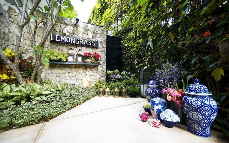 Стильный ресторан Lemongrass в индонезийском Богоре