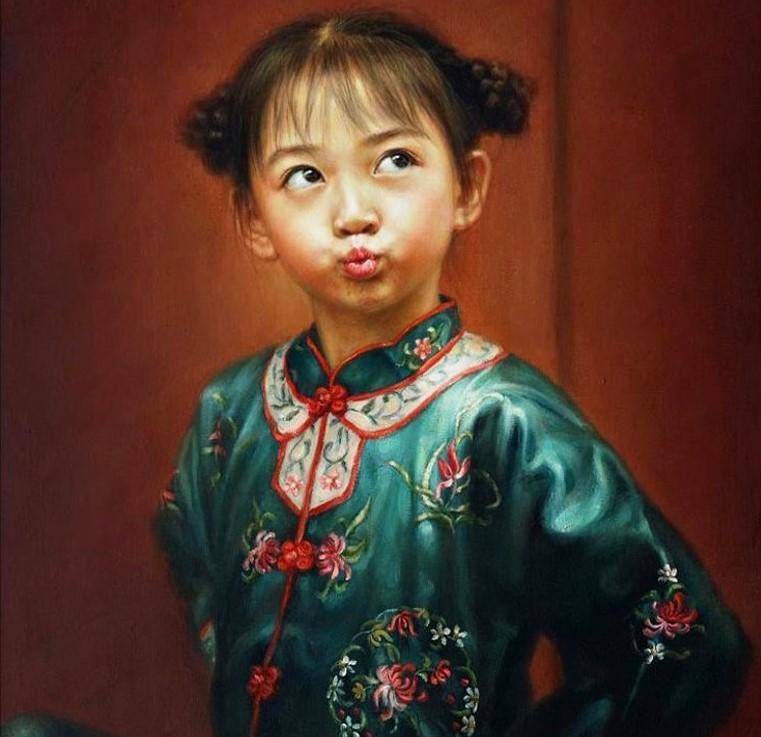 Китайская художница Xu Xiaoxi-Xu Fang