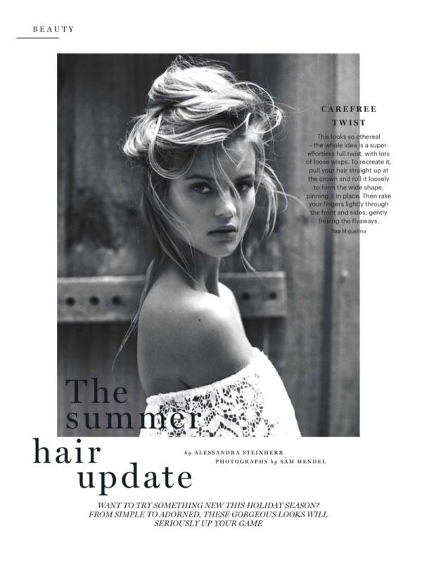Кейт Григорьева для британского Glamour