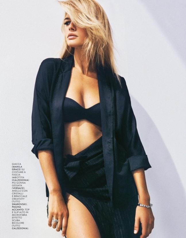 фото красивых моделей,Стильная фотосессия Келли Рорбах для итальянской GRAZIA