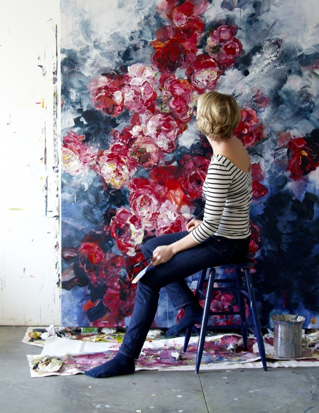 Живописные цветы Бобби Бургерс
