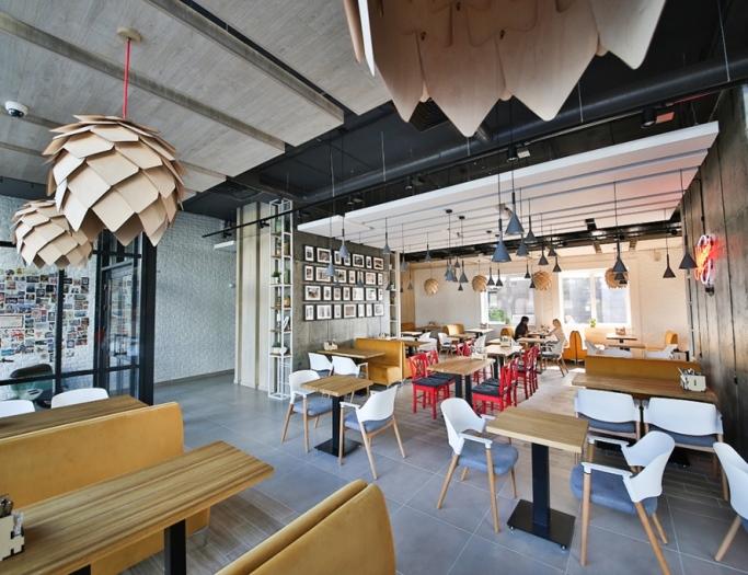 Итальянский ресторан Mario расположен в Бресте. Дизайн Андрея Полиенко