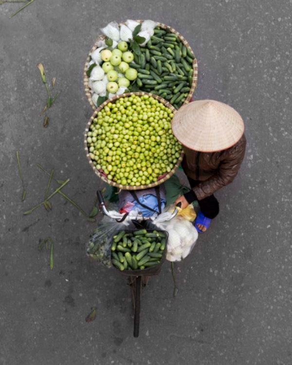 Торговый Ханой. Вид сверху