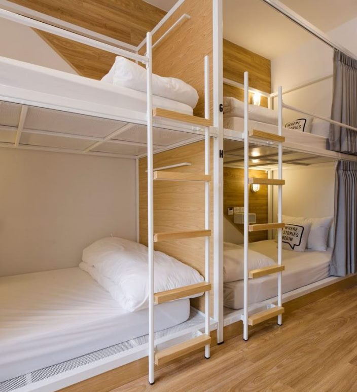 Стильный хостел в Бангкоке - Bed One Block Hostel