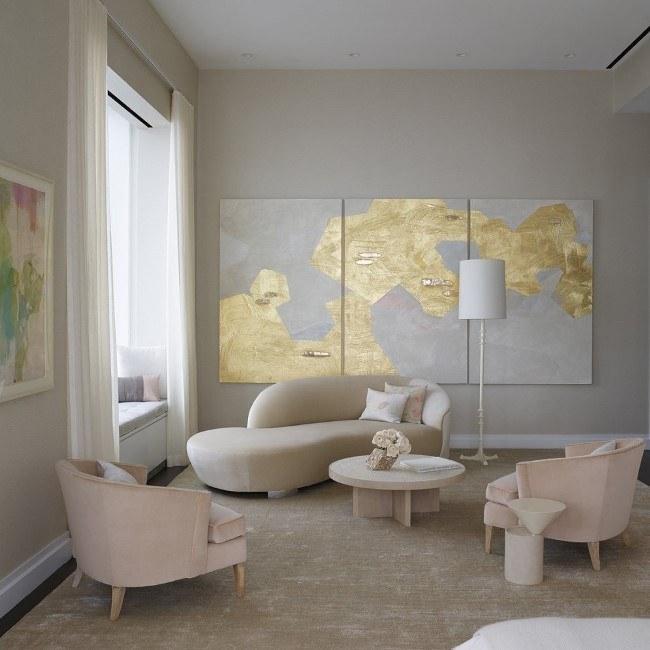 Пентхаус на 92-ом этаже в Нью-Йорке от дизайнера интерьеров Келли Бихан
