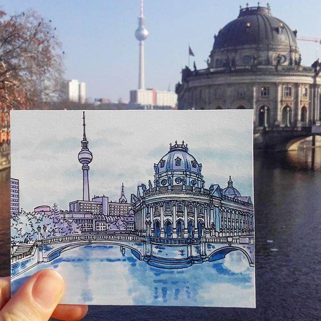 Иллюстрация VS Оригинал от Максвелла Тильсе
