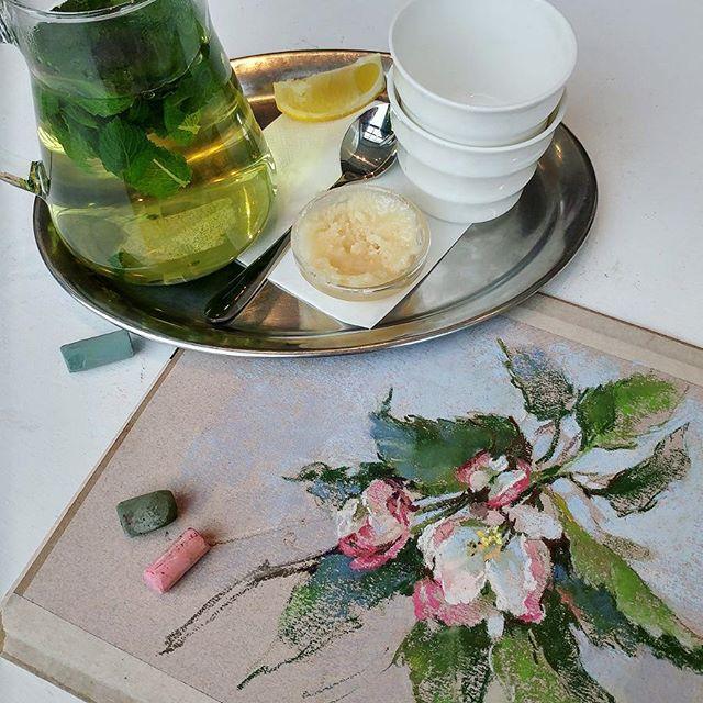 Пастельные пастельки от Елены Таткиной
