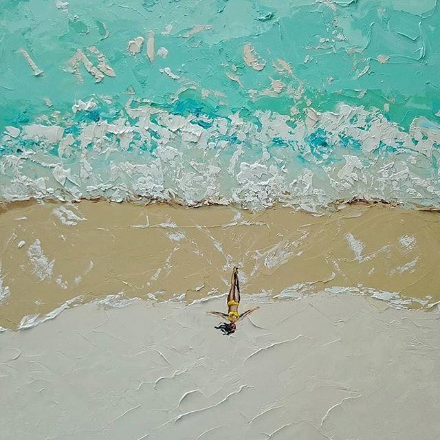 Пляжные истории от Алены Шимчонак