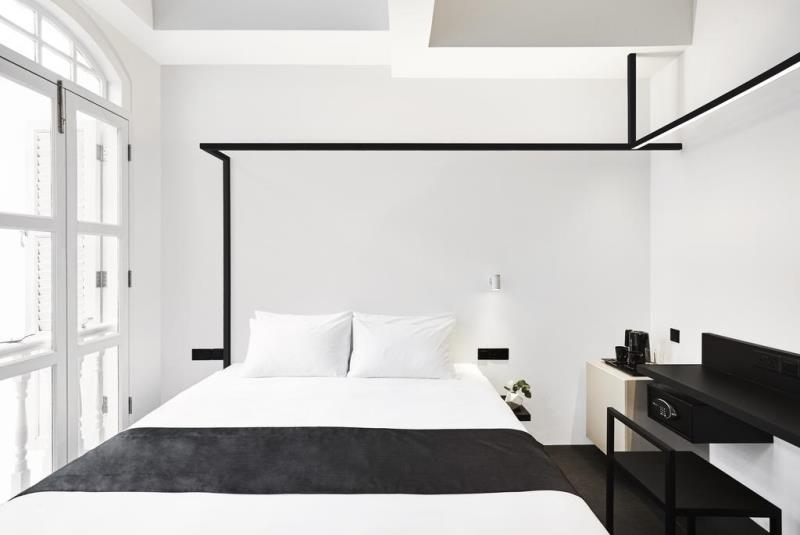Черное и Белое. Отель Mono в Сингапуре
