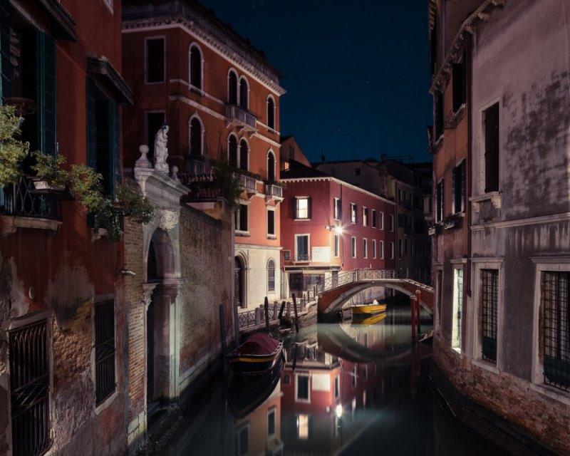 Спящая Венеция Тибо Пуарье