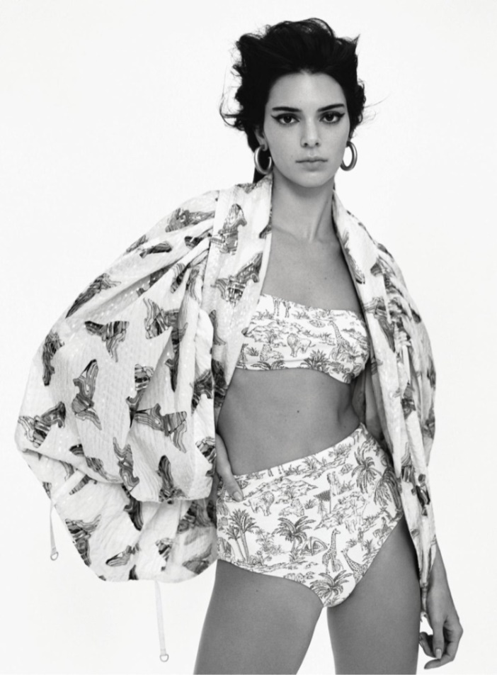 Kendall и Vittoria for VOGUE