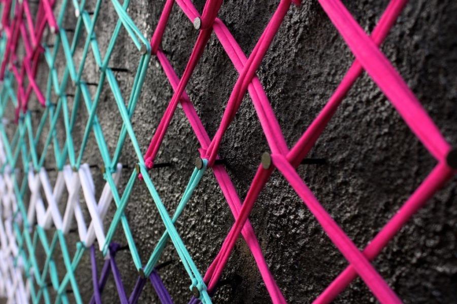 Вышитые стены и другие работы Aheneah