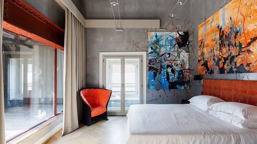 Отель Galleria Vik Milano - в центре искусства
