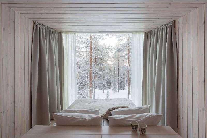 Дизайнерский Arctic TreeHouse Hotel